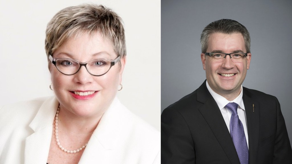 MLAs Francine Landry and Kris Austin make the case for and against relaxed travel restrictions with Quebec border communities.