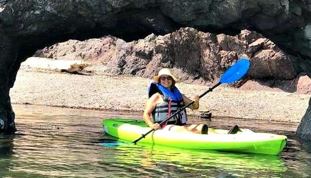 Campbellton's Karen d'Entremont found a new passion this summer, kayaking in waterways around Campbellton and Dalhousie.