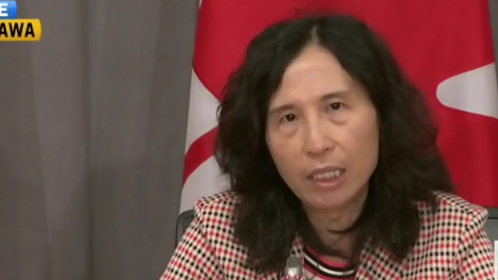 Canada's Chief Public Health Officer Dr. Theresa Tam.