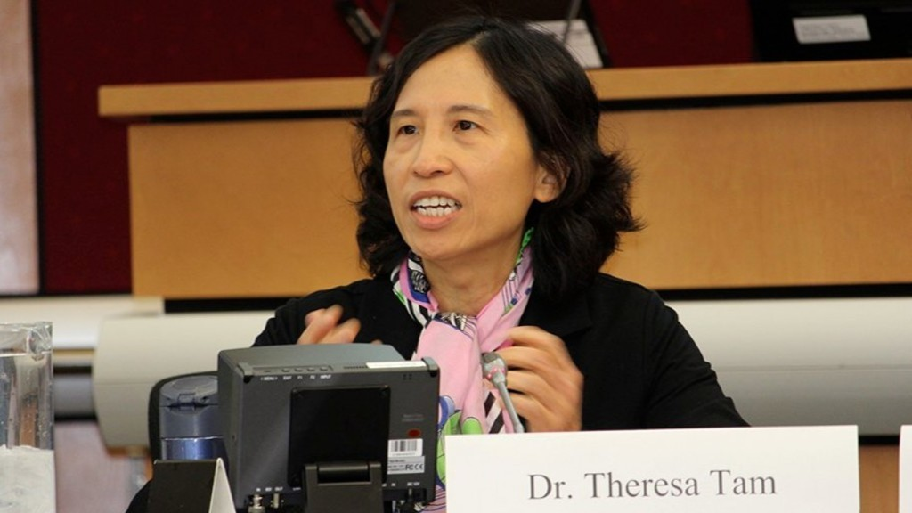 Dr. Theresa Tam says physical distancing and mask-wearing could be in place for two to three years - even with a vaccine.
