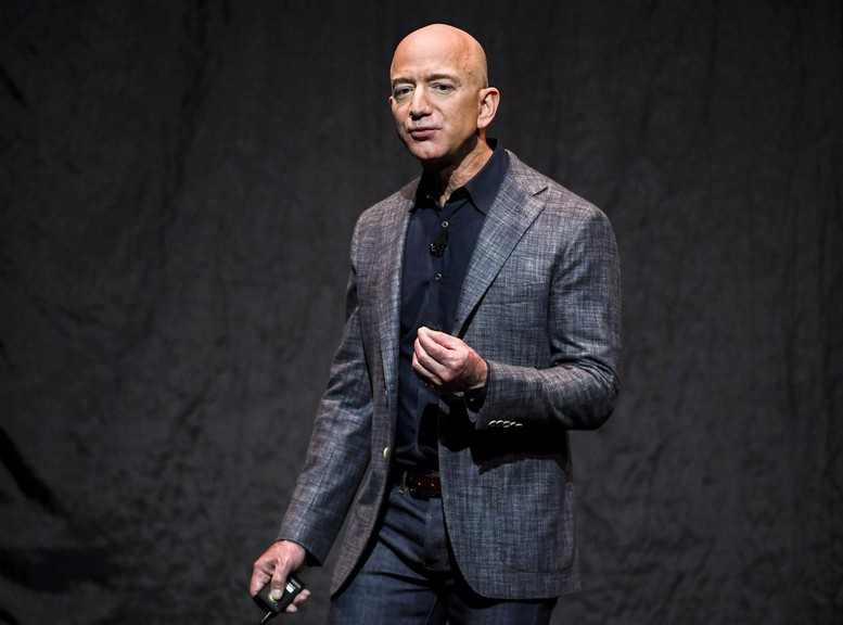 CEOs of major companies, like Amazon's Jeff Bezos, seen in 2019, saw significant failures early in their careers. Heather MacLean argues that we ought to learn the lesson from our failures, rather than simply dismissing them.
