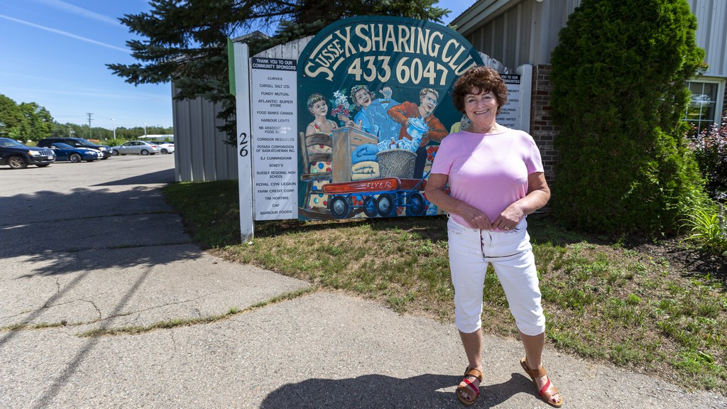 Sussex Sharing Club administrator Lois King says the thrift shop will close after Nov. 24 for the foreseeable future to ensure it's safe enough for volunteers to continue to serve their foodbank clients.