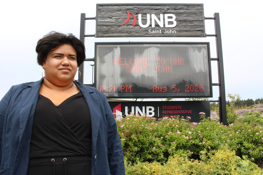University of New Brunswick Saint John Student Representative Council vice president student lifeKirsten Hurley said she gets the sense that it doesn't feel like the community on campus that students are used to.