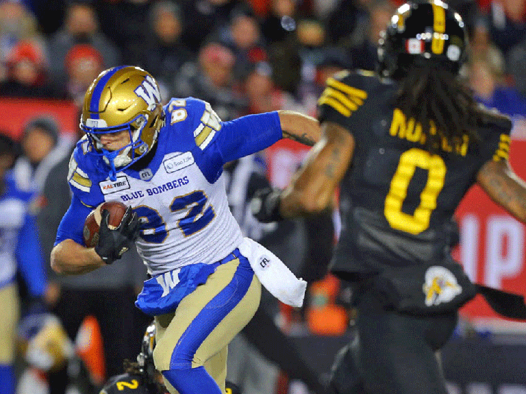 Winnipeg Blue Bombers and Hamilton Tiger-Cats during the 2019 Grey Cup,, Nov. 24, 2019. Whether there will be any season at all in 2020 remains much in doubt.