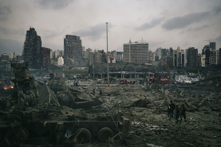 Lebanon's capital city, Beirut, was rocked by a massive explosion which flattened much of the city's core on August 4, 2020. Ian Urbina explains the role that poor regulation of global shipping played in the disaster.