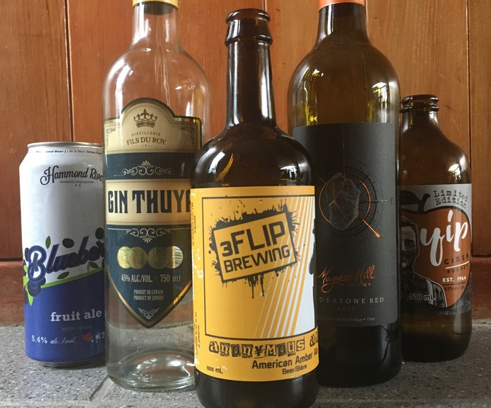 This week's drinks of the week include offerings from Hammond River Brewing, Yip Cider, Gin Thuya, Magnetic Hill Winery and 3Flip.