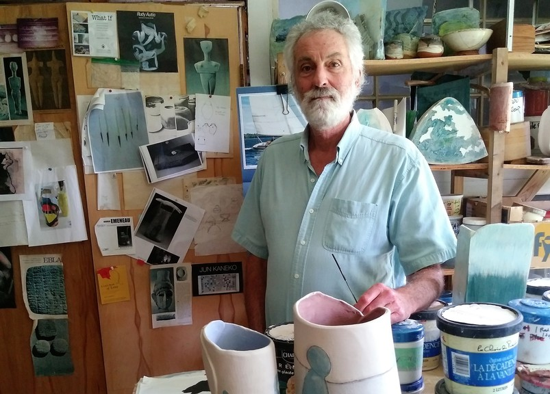 Ceramic potter Craig Schneider is about to begin a week-long stint as a virtual artist-in-residence with the Fredericton Arts Alliance.