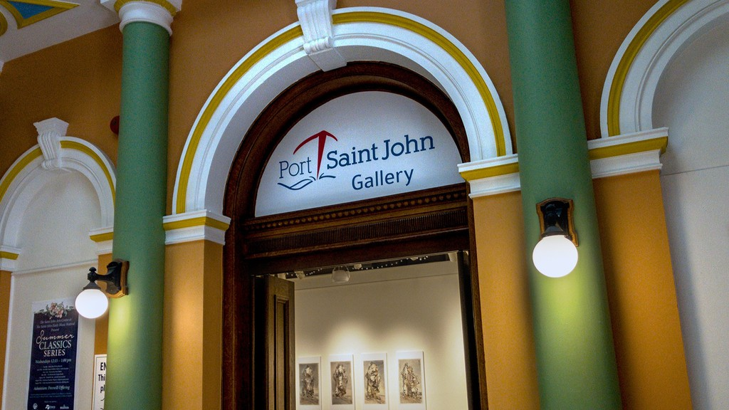 The space on the main floor at the Saint John Arts Centre has been re-christened as the Port Saint John Gallery.