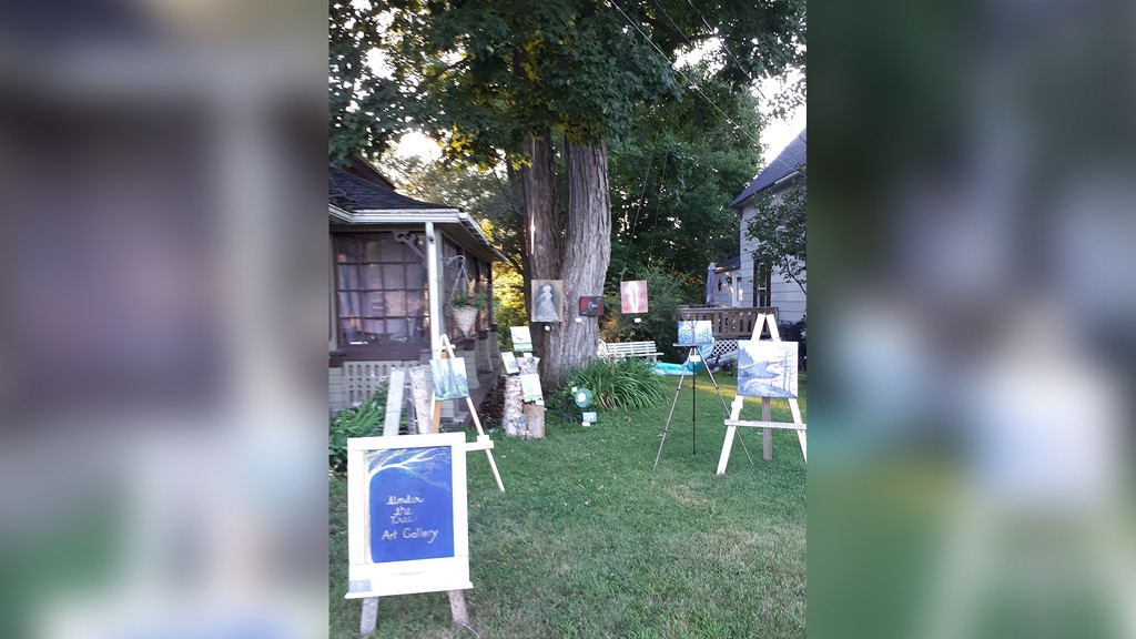 After a successful first few months, Hampton artist Kristin Singh is expanding her Under the Tree Gallery. She has put out a call for applications from new artists across New Brunswick to display their work in her outdoor gallery.