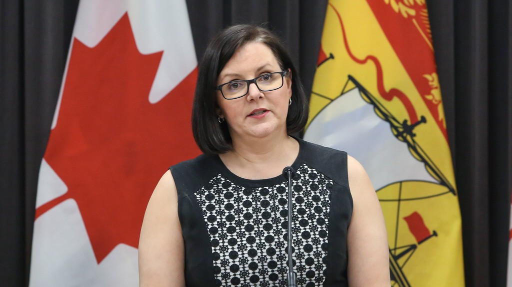 Dr. Jennifer Russell, New Brunswick's chief medical officer of health.