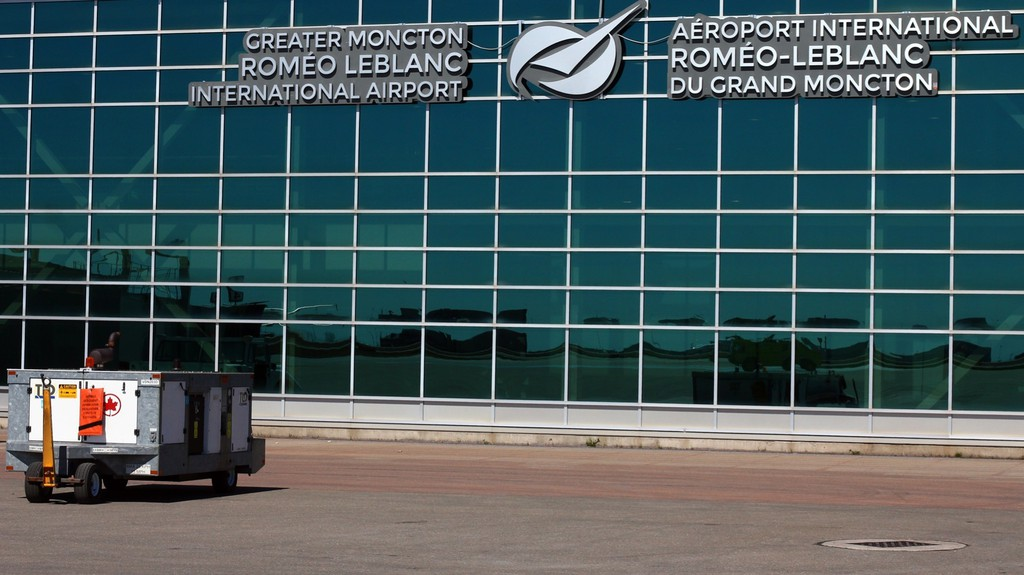 An individual with a confirmed COVID-19 case flew into Greater Moncton Roméo LeBlanc International Airport last month.