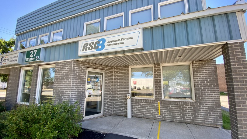 The Regional Service Commission 8 office is seen in 2020. After being suspended for nearly two years, the RSC's board is back in power.