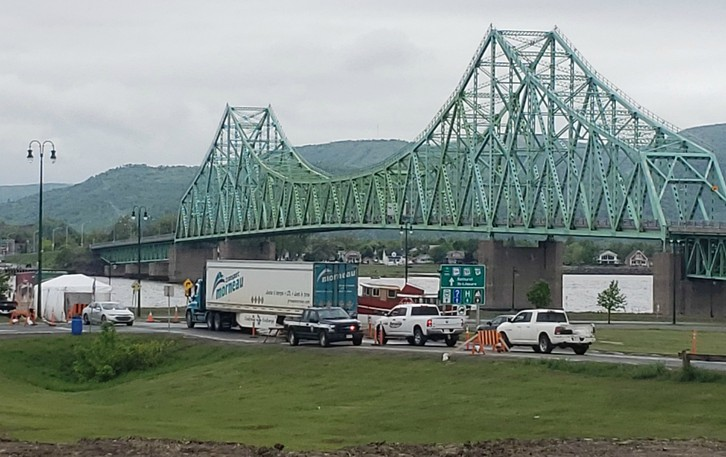 The J.C. Van Horne in Campbellton on the border with Quebec.