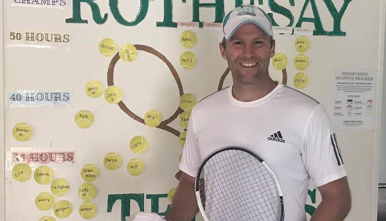 Former New Brunswick premier Brian Gallant of Shediac Bridge won the men's singles title at the New Brunswick provincial open tennis championships.