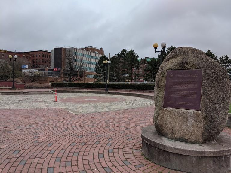 Uptown Saint John near the waterfront.