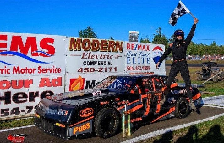 Riley Goodwin of McAdam, the 2021 street stock points champion at Speedway 660, and the other division drivers were hoping to race in the fourth annual Ricky Bobby Street Stock 150 on Saturday. But management decided to cancel the season-ending race card due to 'circuit breaker measures' put in place by the province.