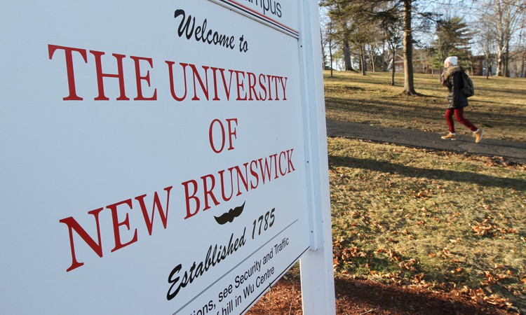 The University of New Brunswick campus in Fredericton.