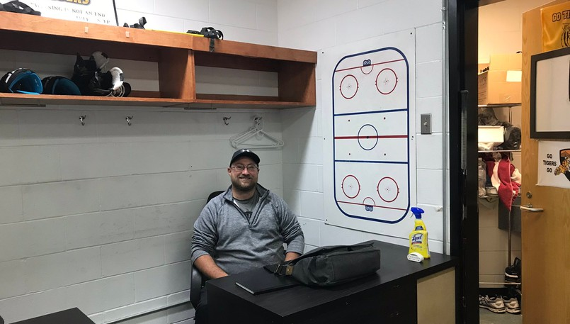 Former Moncton Wildcats defenceman James Sanford, a native of Alma, is the associate head coach of the Maritime Junior Hockey League's Campbellton Tigers.