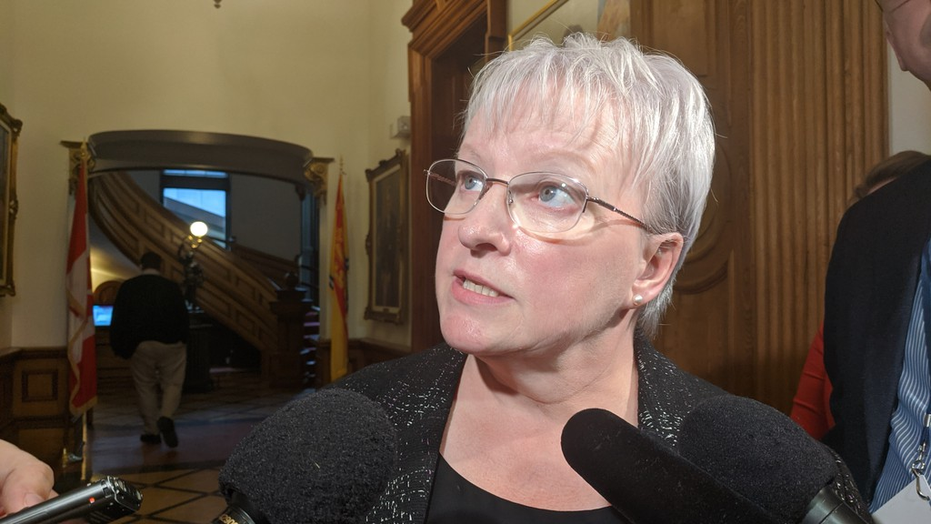 Health Minister Dorothy Shephard, shown in a file photo, is responsible for mental health and addiction after the portfolio was transferred from the Department of Social Development.