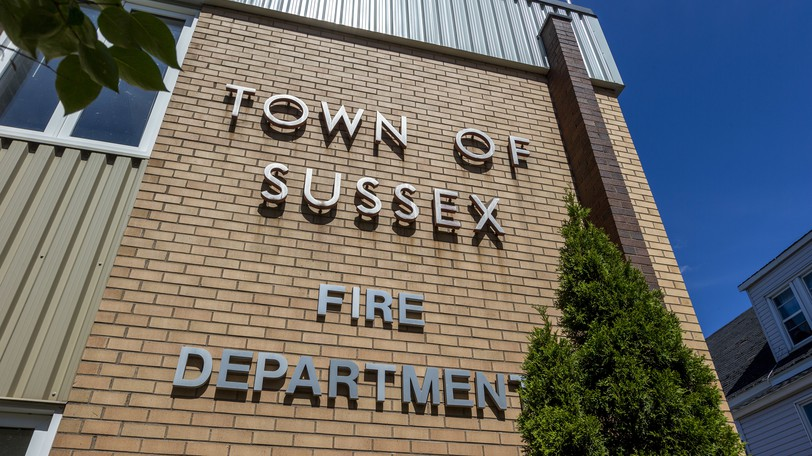 The Sussex Fire Department station is seen Wednesday, Aug. 19, 2020. Sussex RCMPresponded to more than 70 calls for service in July, while the Sussex Fire Department responded to 14, council heard Monday night.