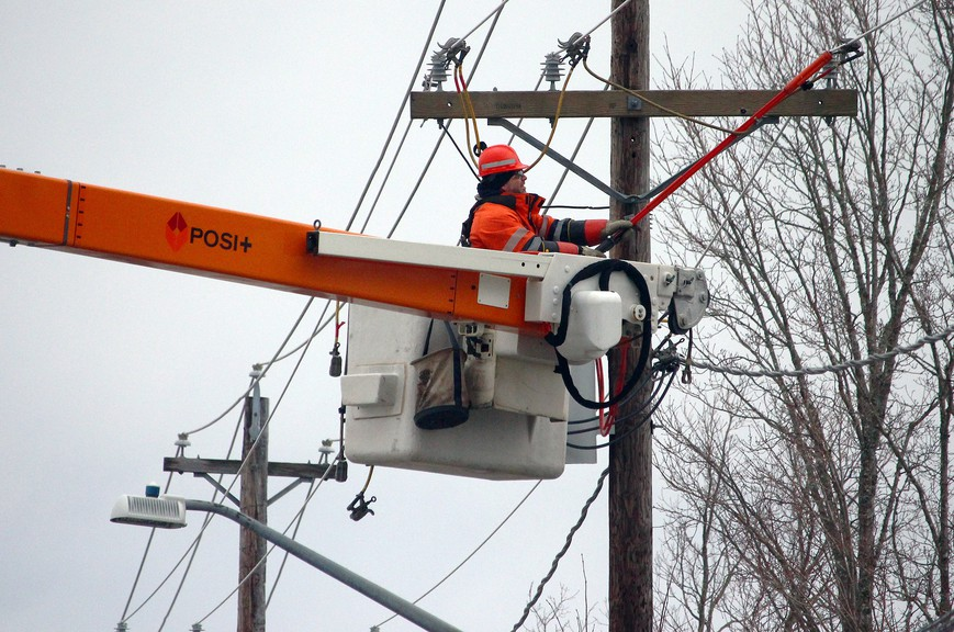 We might see more outages in the province as a windy, rainy system is forecast to move across the province overnight.