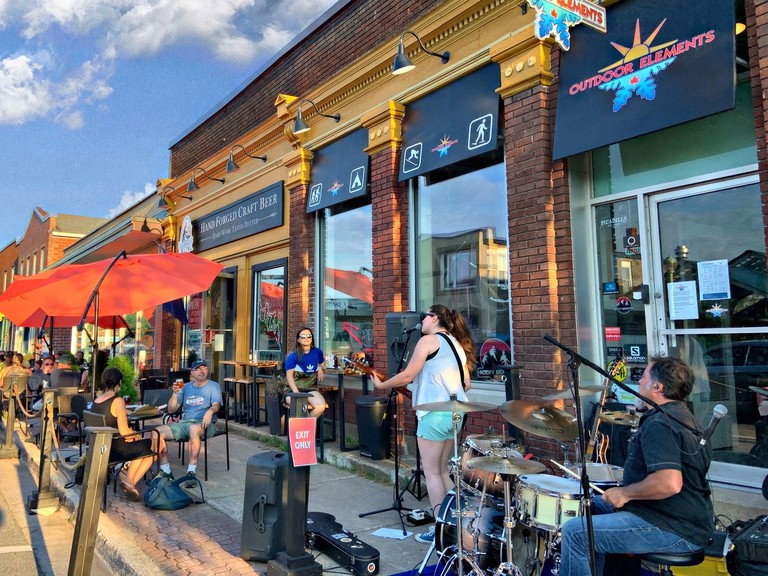 The Sussex Ale Works pop-up patio is closing for the season. Owner Rick Lockhart said the new patio  helped put people in seats over the summer during the pandemic, although sales at the alehouse were down from previous years.