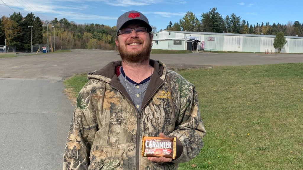 James Tapley of Hartland was one of the lucky Canadians to find a key in his Caramilk bar, which has made him a finalist in Caramilk's Unlock the Secret contest.