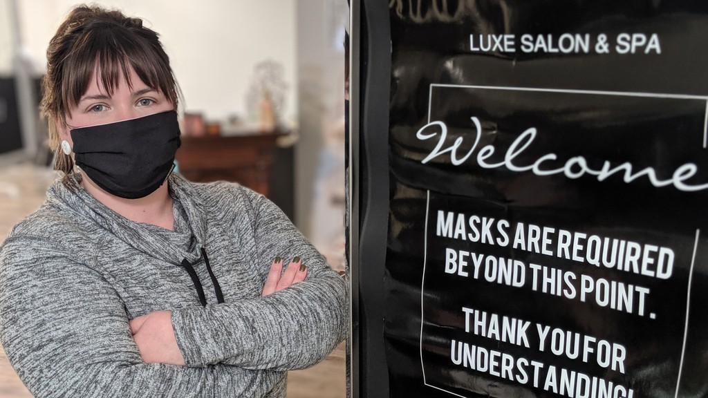 Ashley McDavid, owner of Luxe Salon & Spa in Riverview, which is in Zone 1, is questioning what sort of risk assessment was conducted that determined salons had to close while other businesses, like bars and restaurants, could stay open.