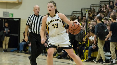 Torrie Janes, who played for the Fredericton High Black Kats in her high school career, has switched from Saint Mary's University to Mount Allison University in Sackville, where she'll play for the Mounties in the Atlantic Collegiate Athletic Association women's basketball conference.
