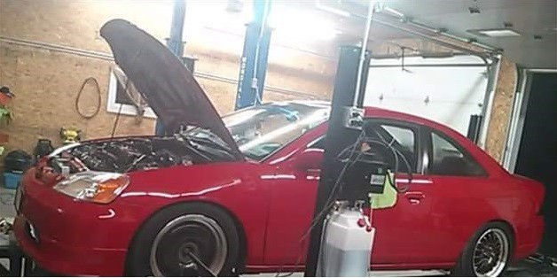 RCMP are searching for this car, which was stolen from a garage in St. Andre.