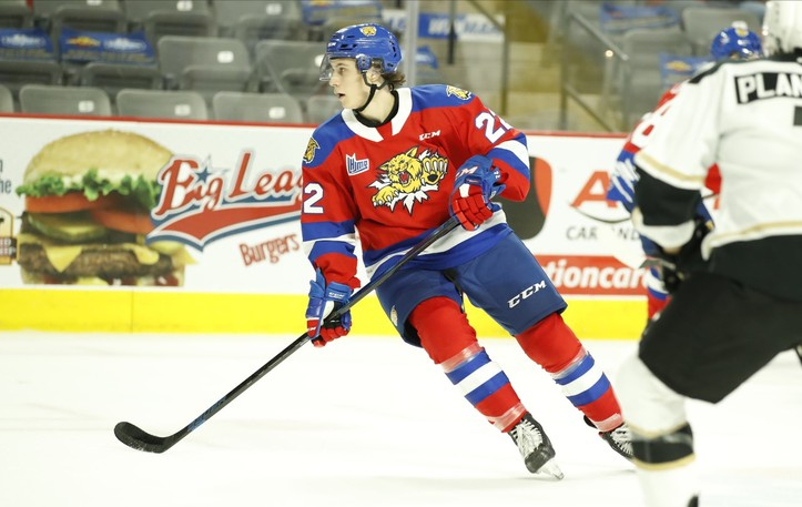 The Moncton Wildcats have released 20-year-old winger Gabriel Bernier.