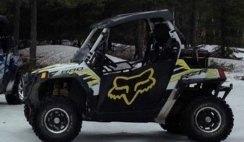 Chaleur Region RCMP stated in a press release Tuesday a white and black 2014 Polaris Ranger Razor was stolen Oct. 8 from a residence on Archibald Road in the Belledune area.