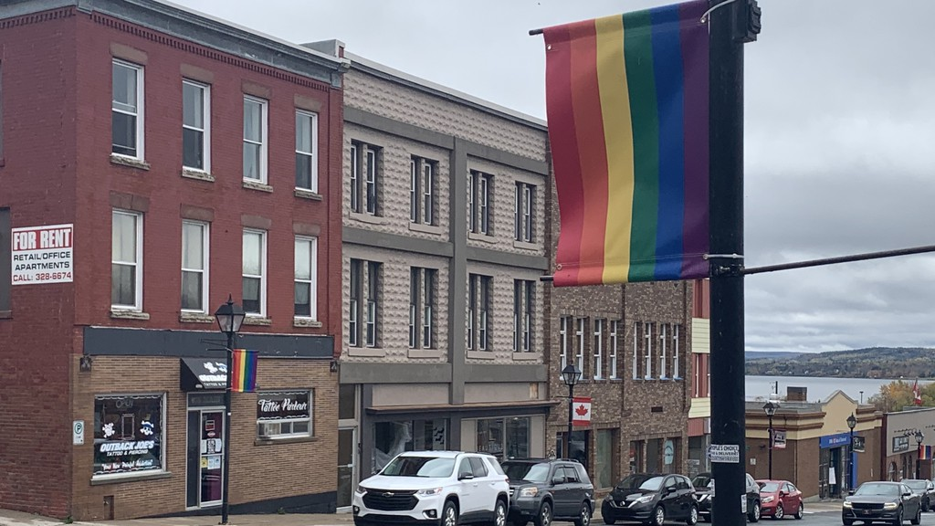 Woodstock councillors declared the rainbow banners lining the sidewalks in downtown Woodstock will continue to be displayed in the community after receiving a complaint from a Fredericton-area resident.
