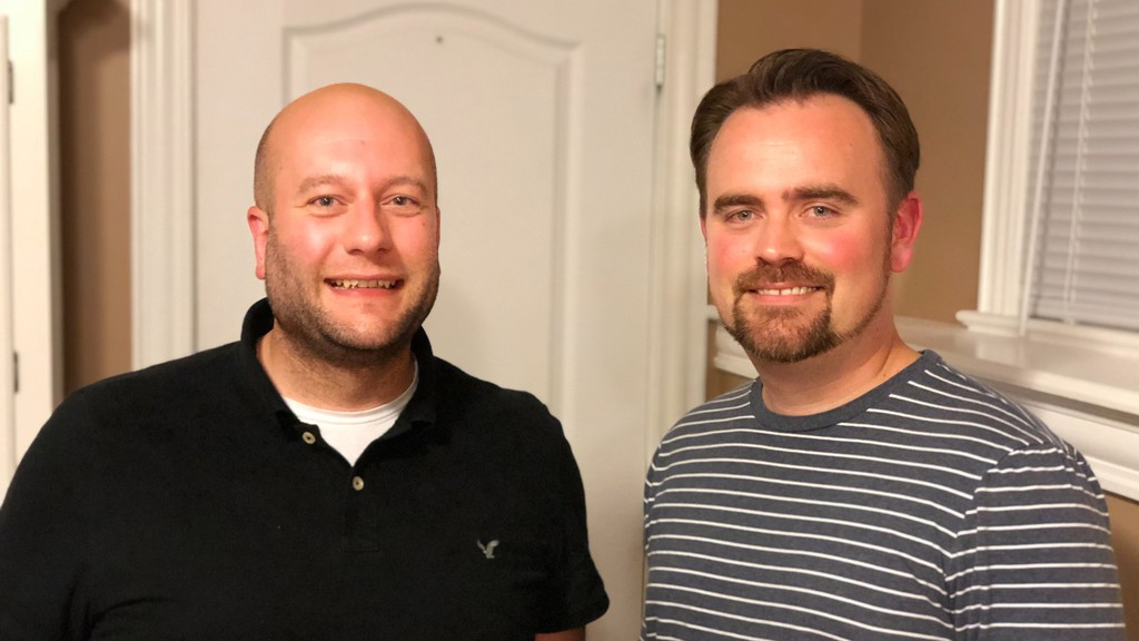 Town of Riverview Deputy Mayor Andrew LeBlanc, left, and former Times & Transcript reporter Eric Lewis have launched Town Talk, a webisode series about issues important to residents in the town.
