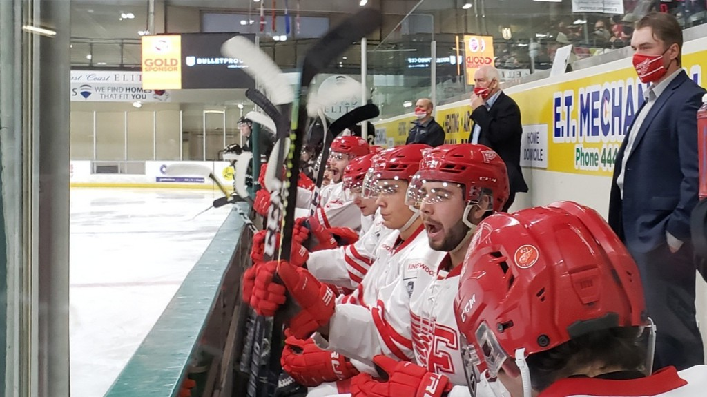 The Fredericton Red Wings host the Edmundston Blizzard in exhibition play Friday at the Grant-Harvey Centre.