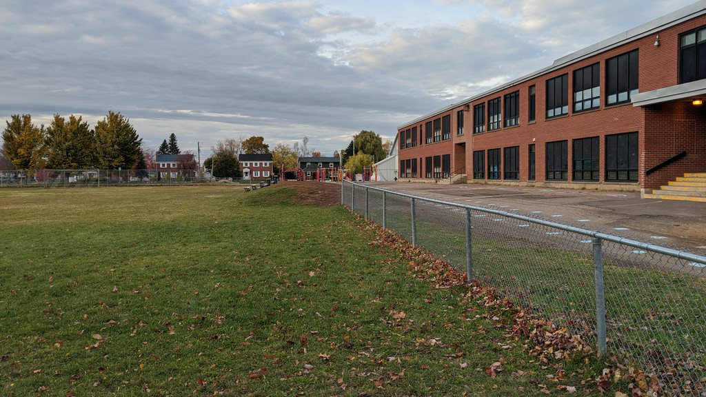The Department of Education and Early Childhood Development listed a number of reasons why a new K-8 school will not be built next to Bessborough School in Moncton's west end during a meeting Tuesday night.