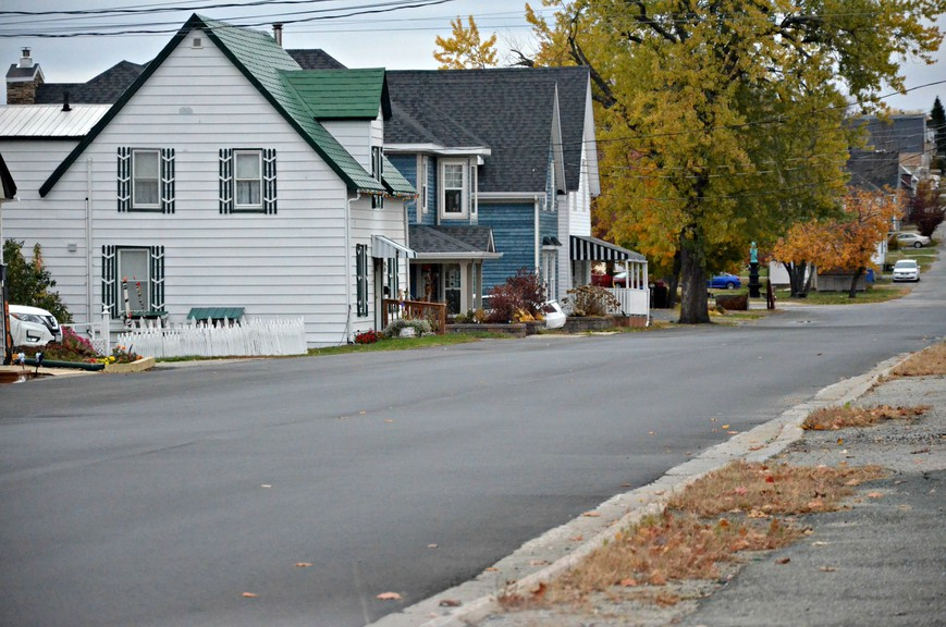 Water Street between King Street and Chatham Avenue was one of several sections of Miramichi streets repaved this year. City council voted to recommend $2 million for asphalt resurfacing and $200,000 for new sidewalks for 2021 capital budget consideration.