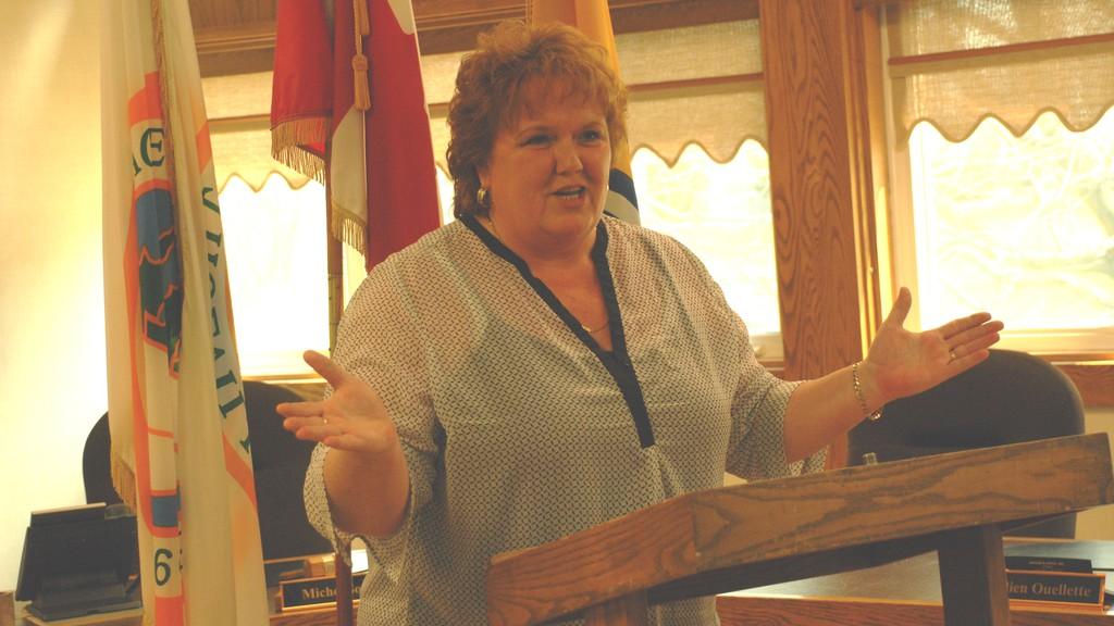 Kedgwick Mayor Janice Savoie