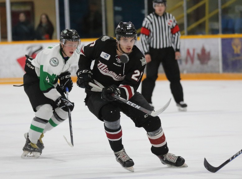 The Miramichi Timberwolves and Grand Falls Rapids will face off in Maritime Junior Hockey League pre-season action Friday at 7:30 p.m. at E & P Sénéchal Centre and Saturday at 7 p.m. at the Miramichi Civic Centre.