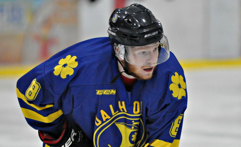 Dalhousie Marauders forward Vincent Charest and his mates will have to wait until at least January before hitting the ice for action in the Acadie Chaleur Senior Hockey League.