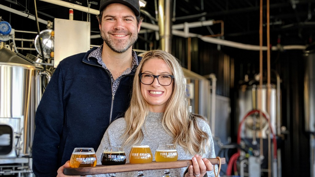 The Tire Shack Brewing Company, operated by Alan Norman and Jerrica Kennedy, received the Emerging Business award from the Chamber of Commerce for Greater Moncton.