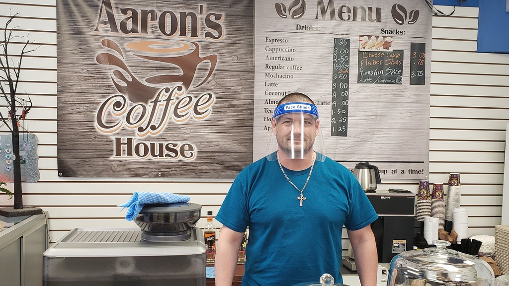 Aaron Nielsen, co-owner of Aaron's Coffee House which also opened in September, said the Salisbury community and those in surrounding areas have helped his business from day one, with many donating. This has made all the difference, he said.