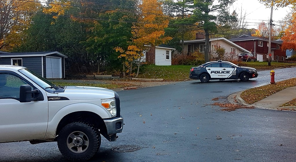 Police blockaded a wide area of the College Hill area of Fredericton for most of Thursday, as they dealt with a long standoff situation.