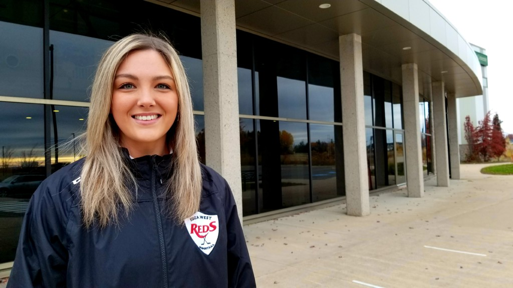Former St. Thomas University Tommies all-star goaltender Abby Clarke is excited to give back as head coach of the EDZA West U18 AAA TNT Reds of the eight-team Maritime Major U18 Female Hockey League.