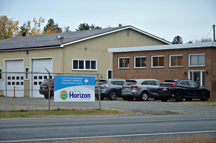 A new drive-thru COVID-19 assessment centre is being established by Horizon Health Network in Miramichi on Wellington Street, at the former Kerr Construction warehouse. Tests will be available by appointment only.