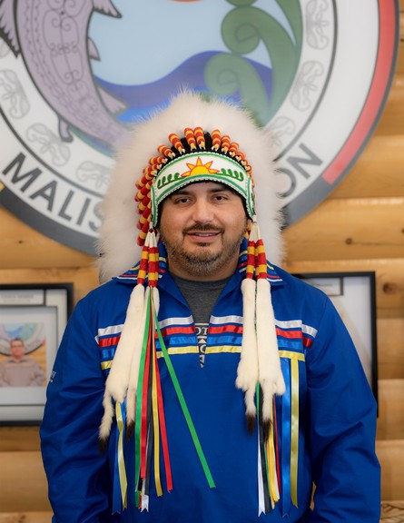 Ross Perley is seeking re-election as chief of Neqotkuk or Tobique First Nation in the Oct. 29 election.