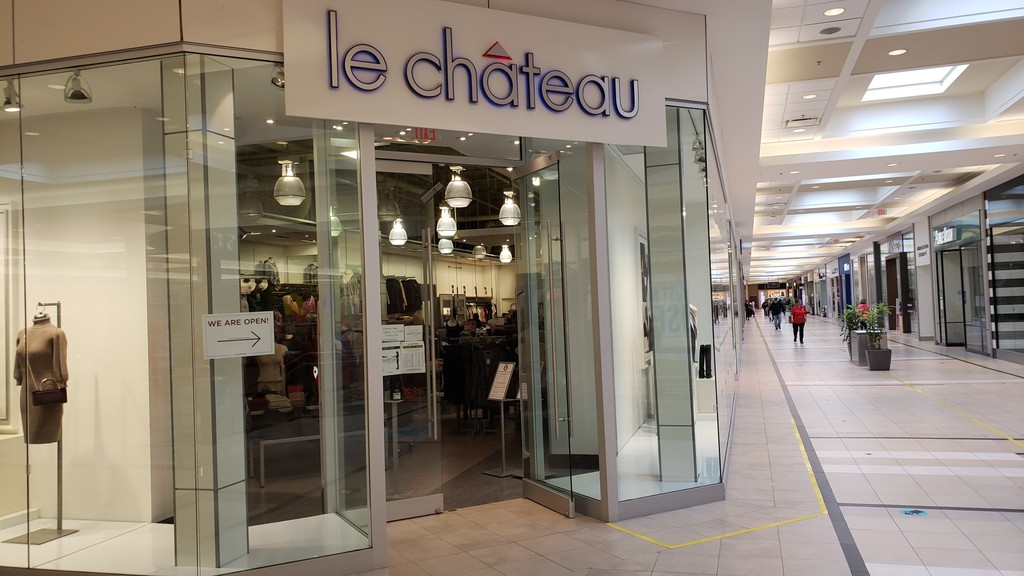 Le Chateau has been located in the Regent Mall in Fredericton since 2005.