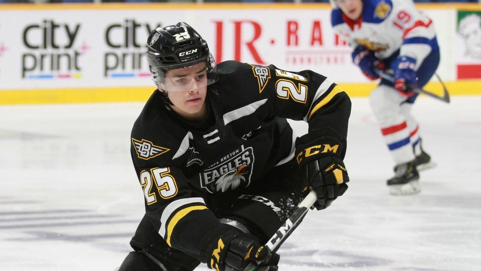 Moncton-born defenceman Matthew Lint, the Miramichi Timberwolves' 2019 third-overall pick, will join the Wolves on Tuesday ahead of their 2020-21 Maritime Junior Hockey League season opener. Lint split last season between the major-junior Cape Breton Eagles and the Moncton Rallye Motors Nissan Flyers major-midget program.