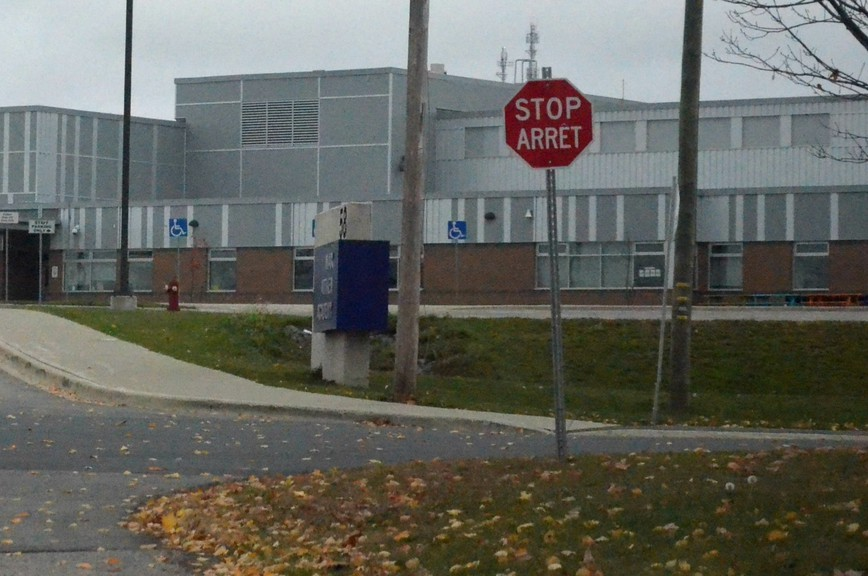 Three-way stop signs were installed on Crocker Crescent at the entrance to Max Aitken Academy after city staff received complaints about drivers not slowing down in the school zone and concerns were raised about students crossing the street.