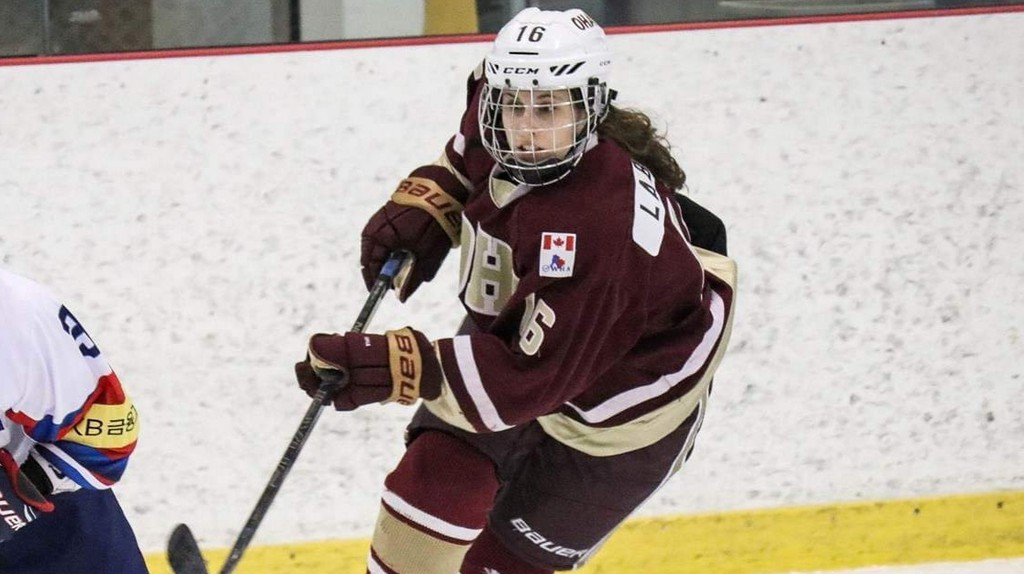 Forward Maritza Labrie of Saint-Quentin has signed a U Sports letter of intent to join the Université de Moncton Aigles Bleues for the 2021-22 Atlantic University Sport women's hockey conference season.